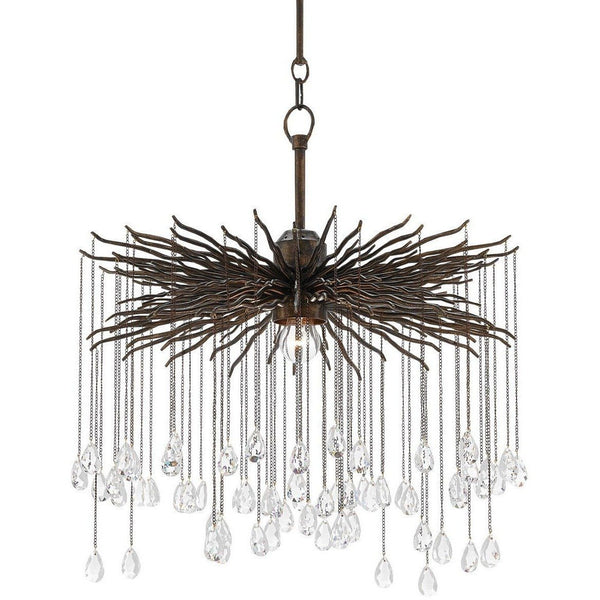 Currey and Company Fen Chandelier, Small 9000-0198