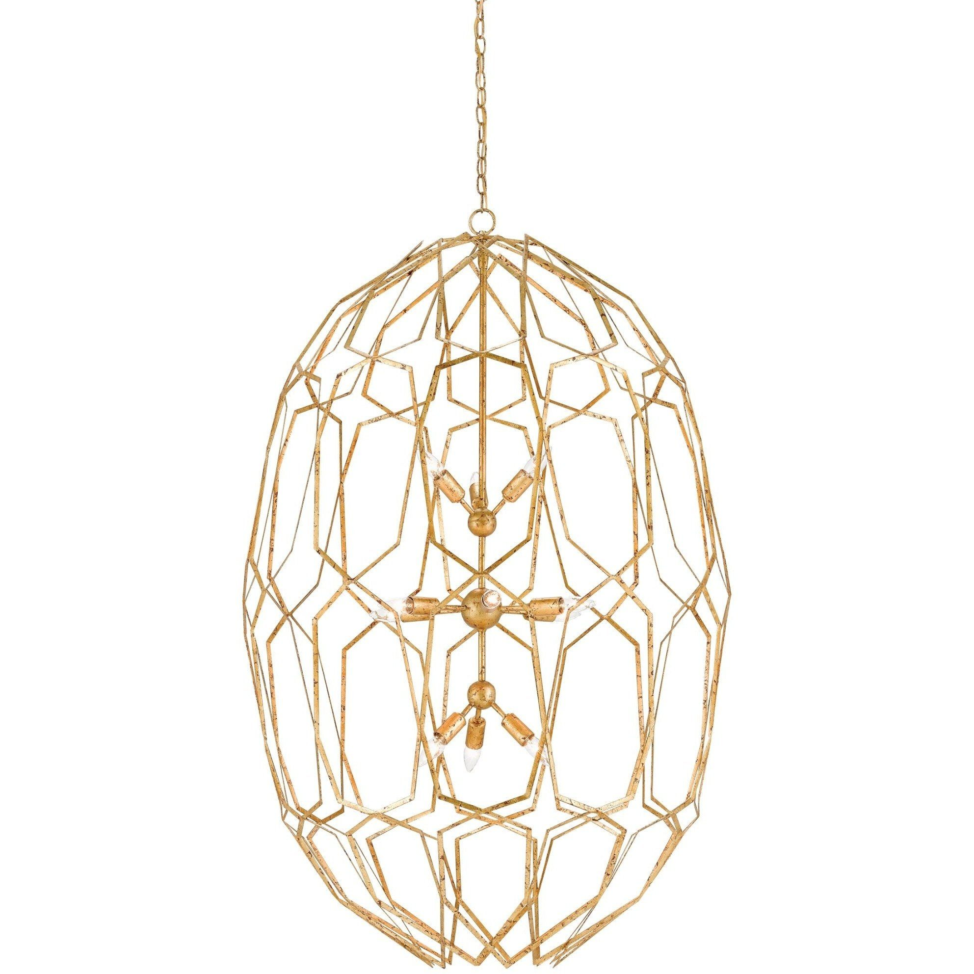 Currey and Company Albertine Chandelier 9000-0207