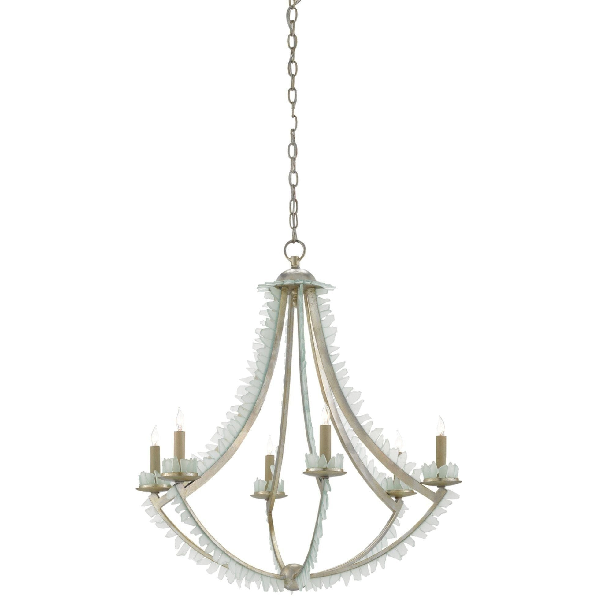 Currey and Company Saltwater Chandelier 9000-0209 - LOVECUP