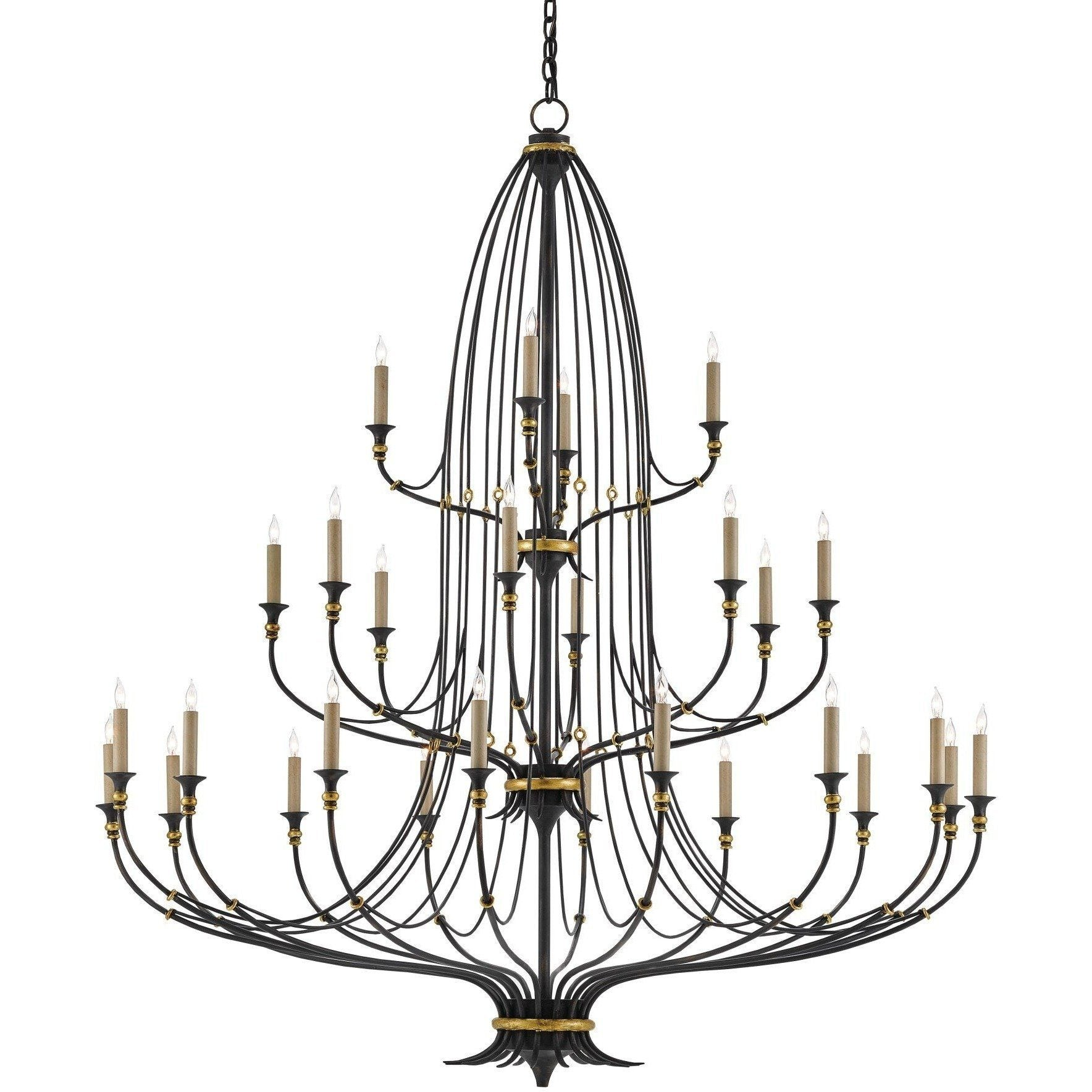 Currey and Company Folgate Chandelier 9000-0213 - LOVECUP