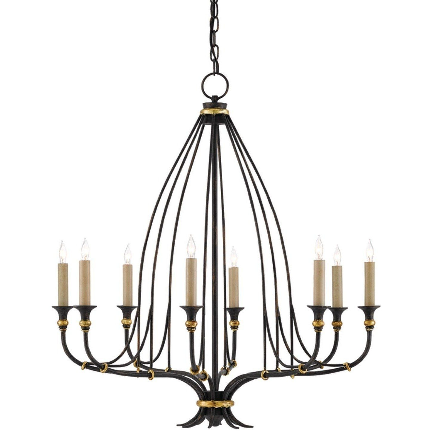 Currey and Company Folgate Chandelier, Small 9000-0214 - LOVECUP