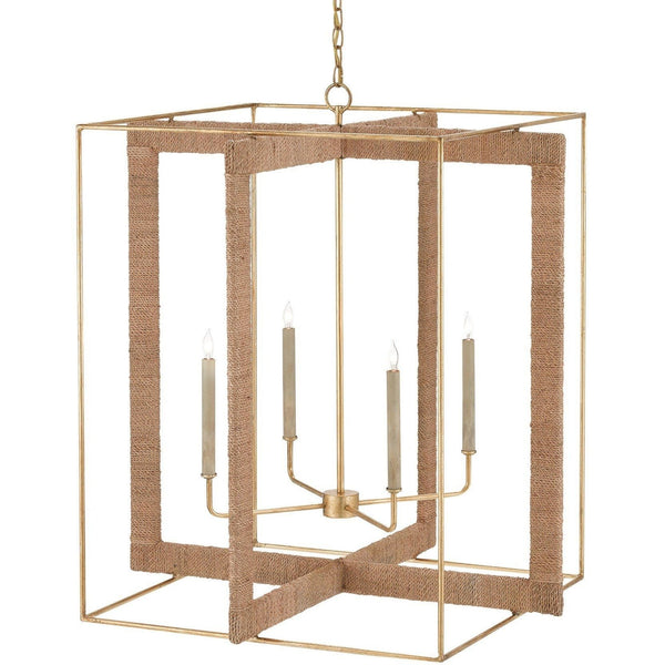 Currey and Company Purebred Chandelier 9000-0217