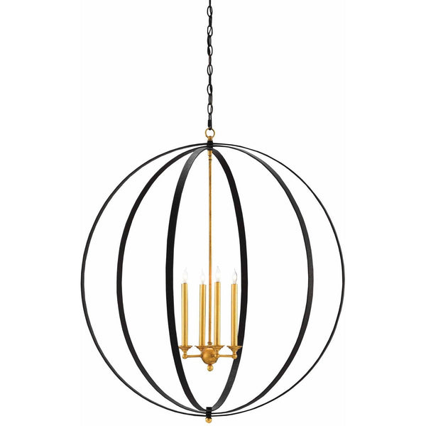 Currey and Company Ogden Orb Chandelier 9000-0238