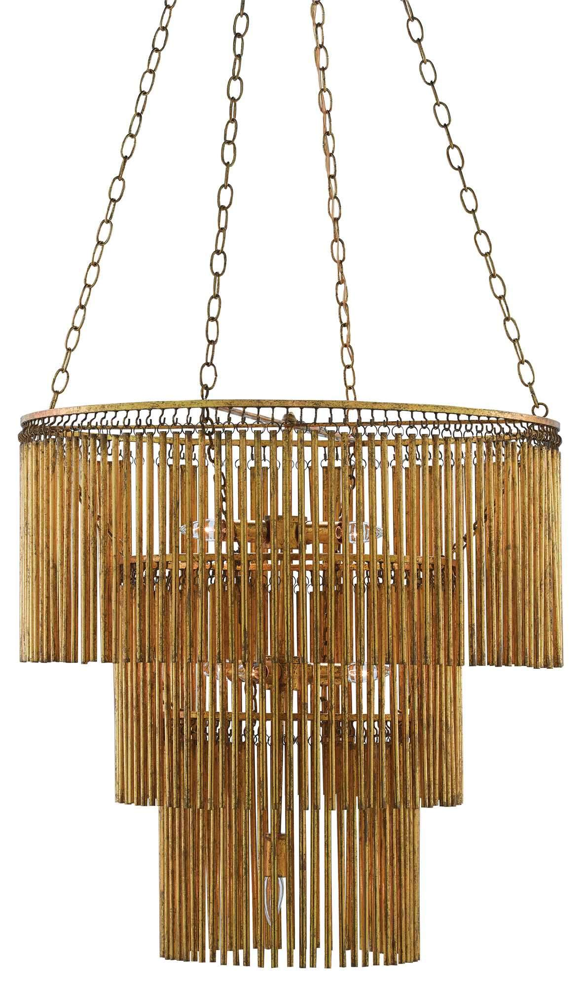 Currey and Company Mantra Chandelier 9000-0247 - LOVECUP