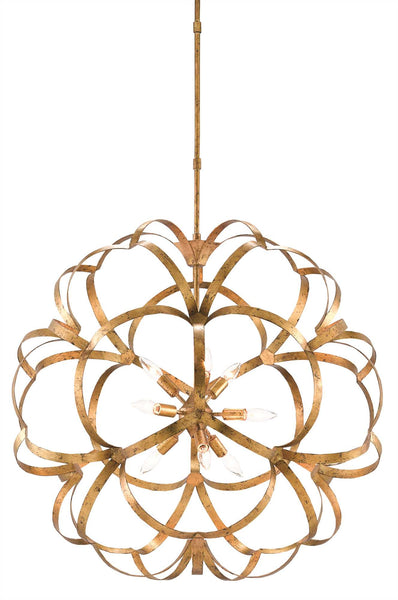 Currey and Company Sappho Orb Chandelier 9000-0259