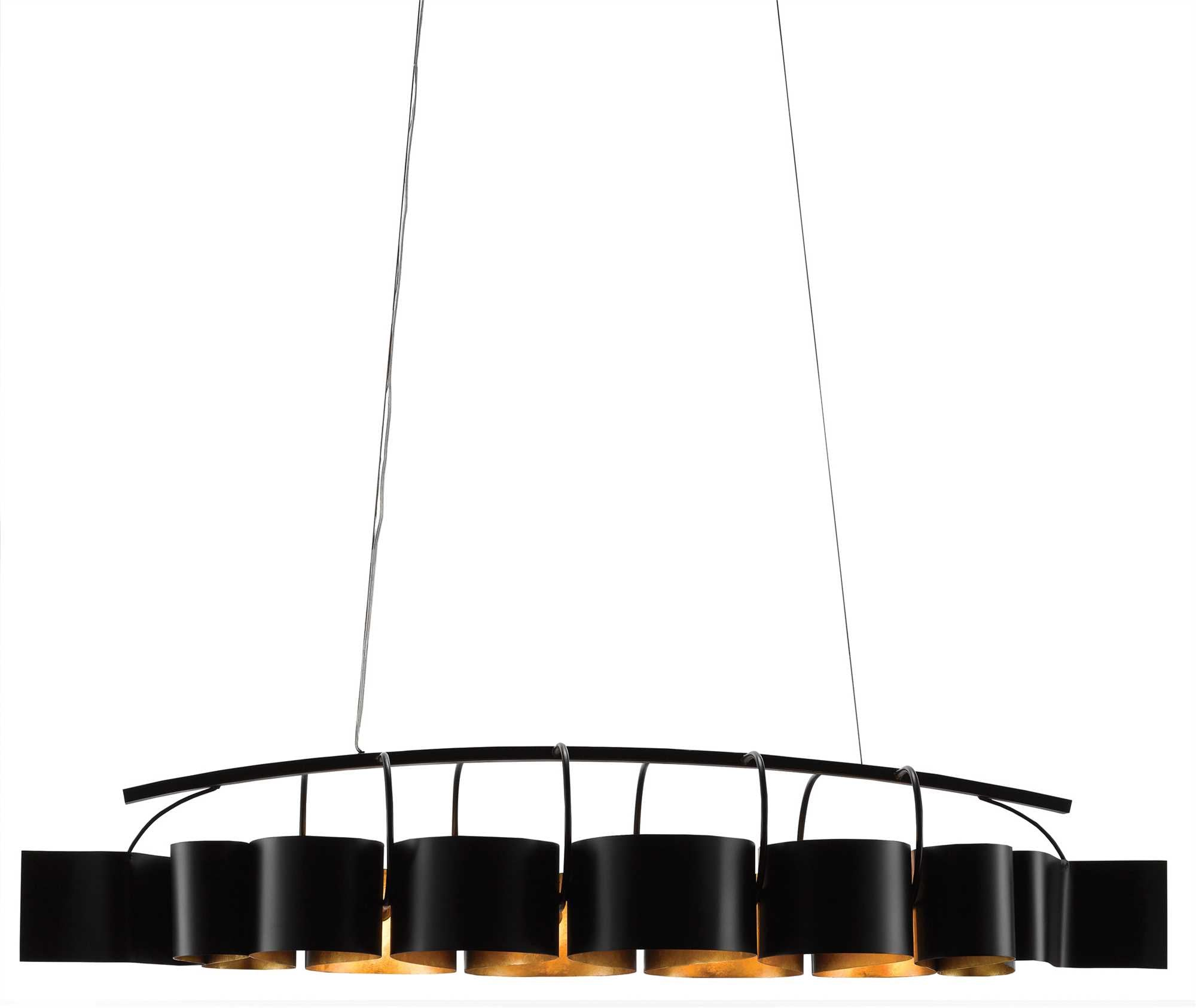 Currey and Company Marchfield Rectangular Chandelier 9000-0262
