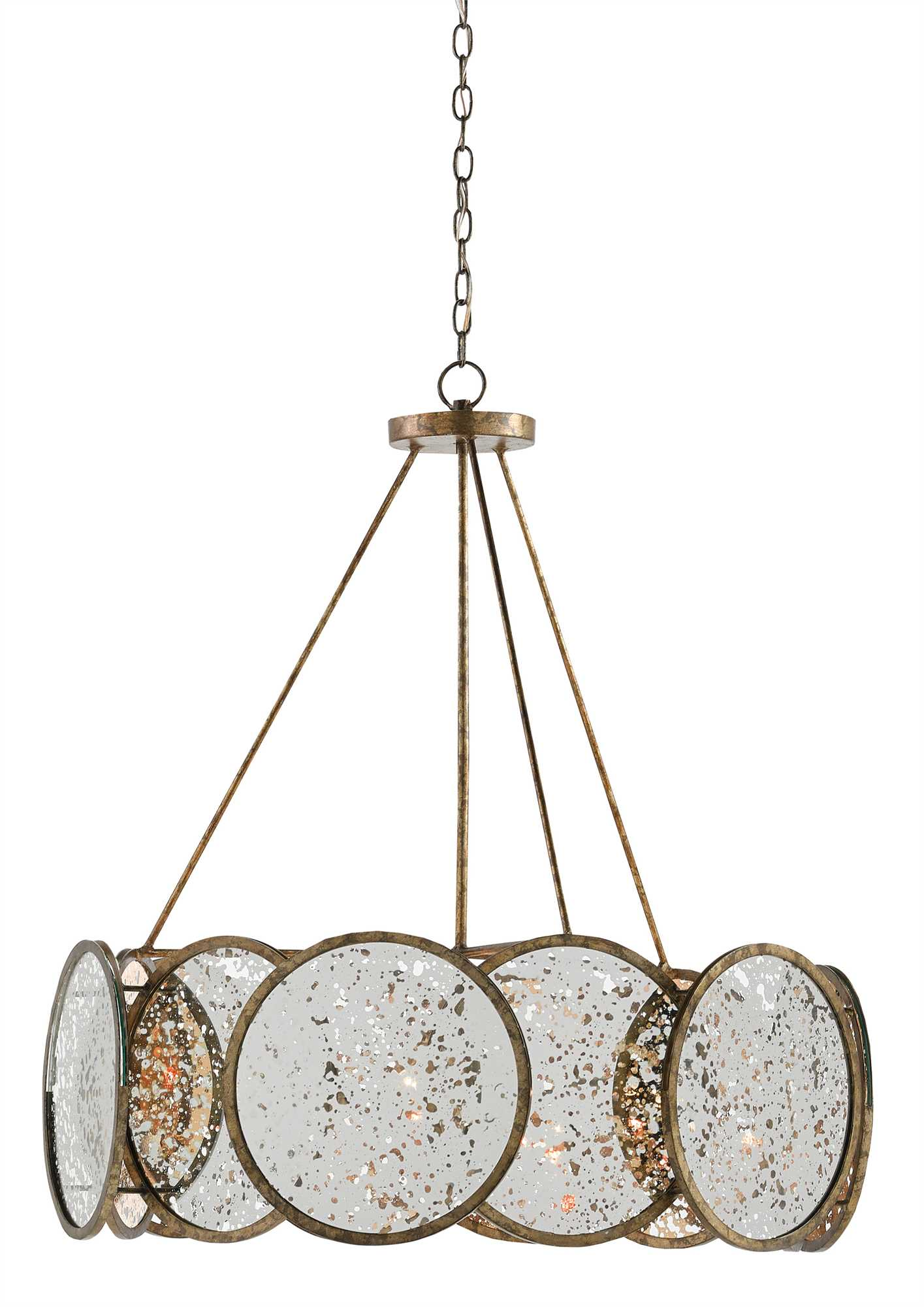 Currey and Company Oliveri Chandelier 9000-0277