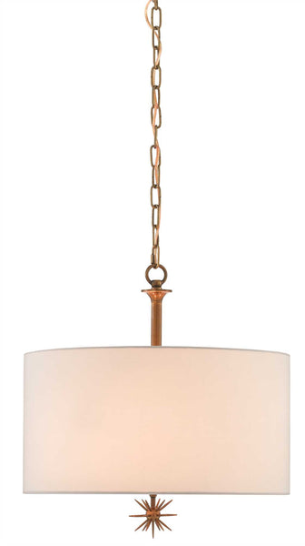 Currey and Company Chancery Pendant, Ivory 9000-0313