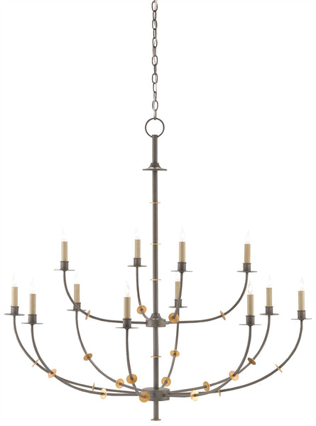 Currey and  Company Balladier Chandelier 9000-0331
