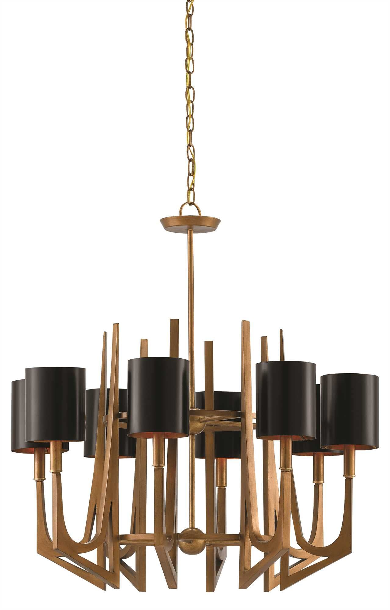 Currey and Company Umberto Chandelier 9000-0332