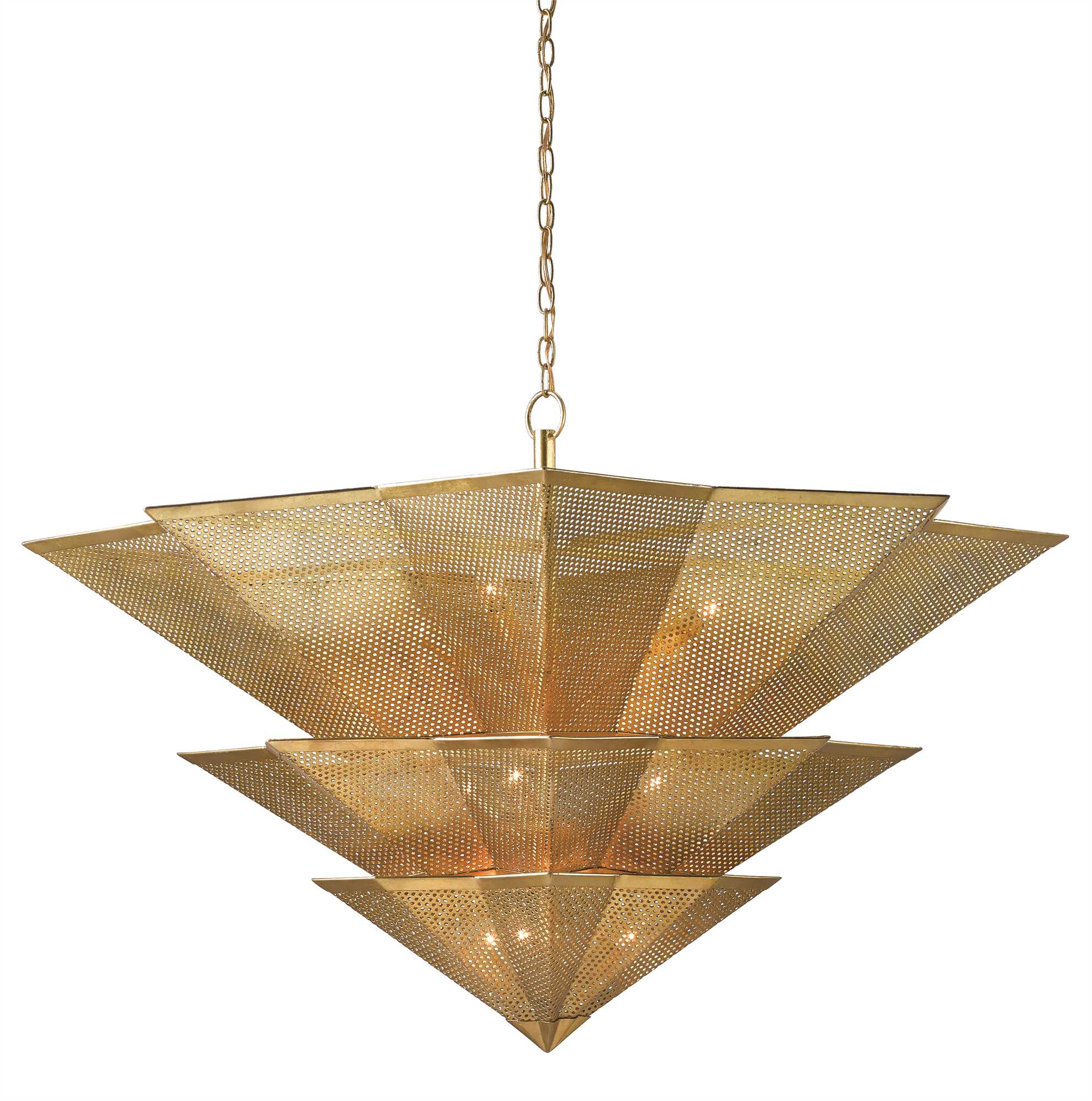 Currey and Company Hanway Chandelier 9000-0359