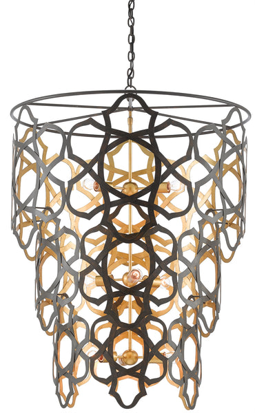 Currey and Company Mauresque Chandelier 9000-0381