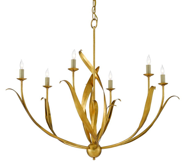 Currey and Company Menefee Chandelier 9000-0444