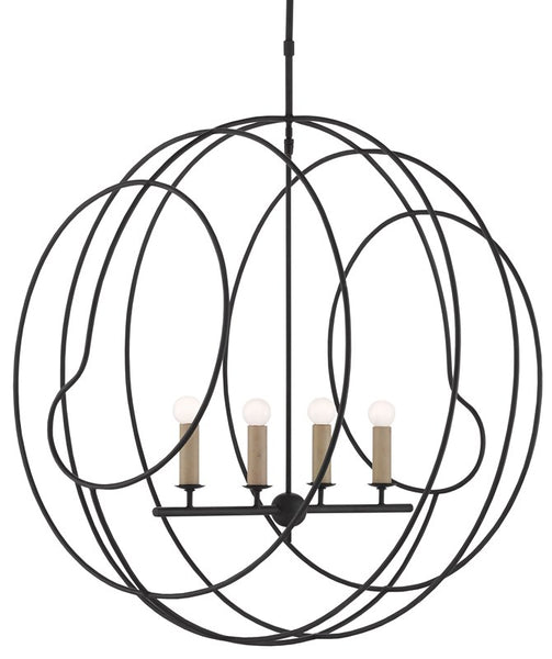 Currey and Company Auden Orb Chandelier 9000-0448