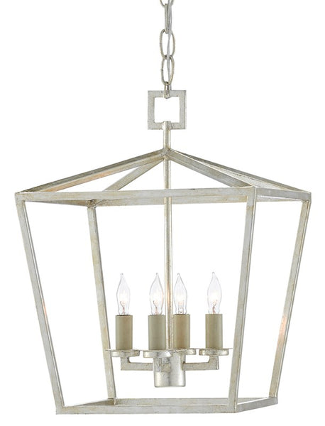 Currey and Company Denison Silver Small Lantern 9000-0460
