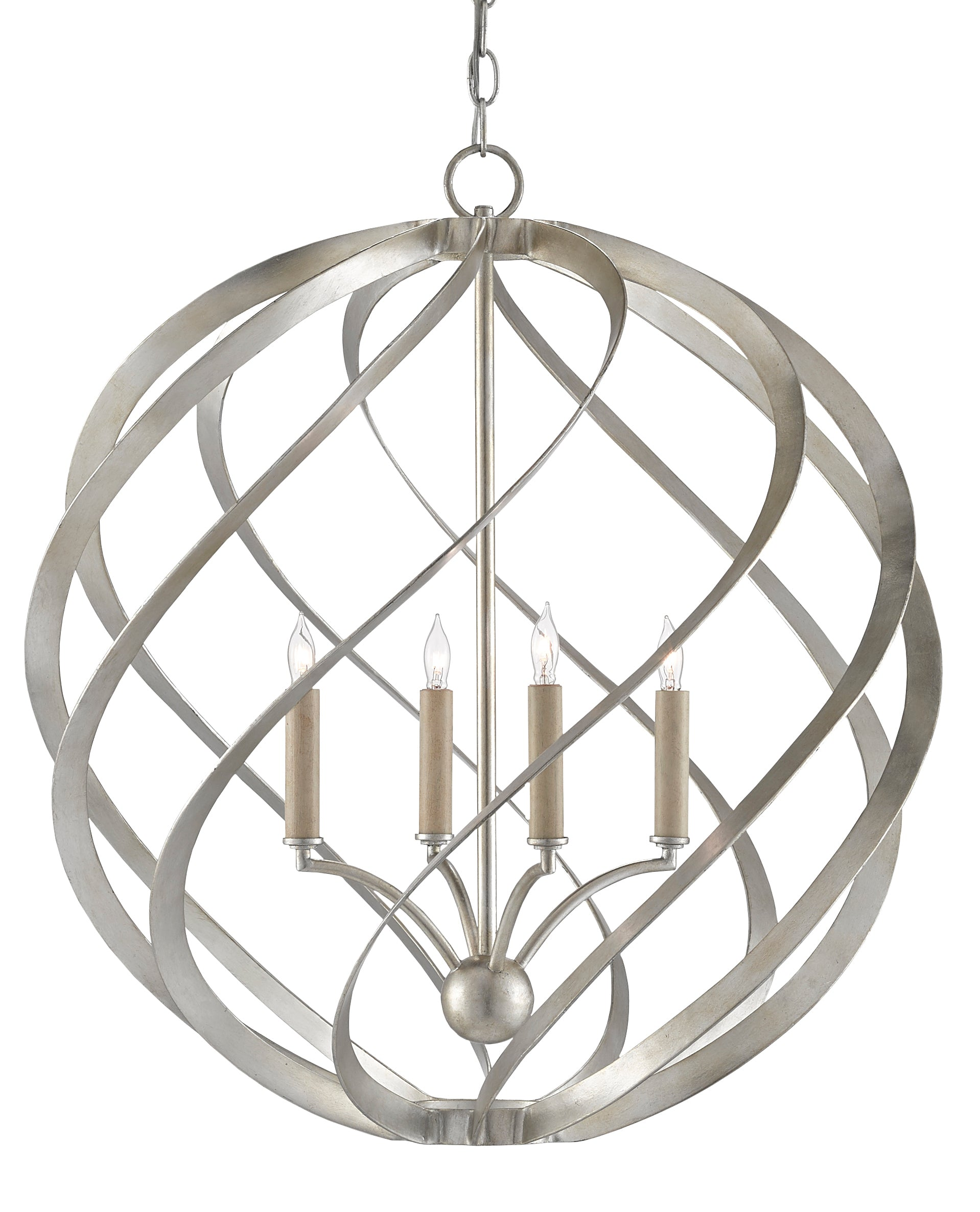 Currey and company roussel orb chandelier 9000 0507