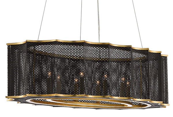 Currey and Company Nightwood Chandelier 9000-0512