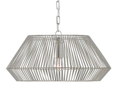 Currey and Company Pollinger Nickel Small Pendant 9000-0541