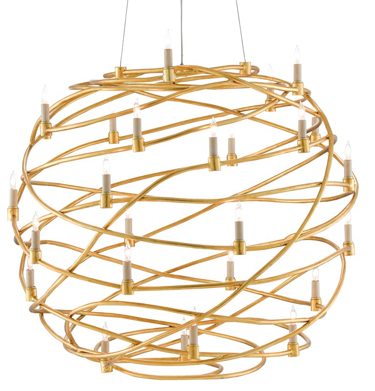 Currey and Company Franchette Orb Chandelier 9000-0548