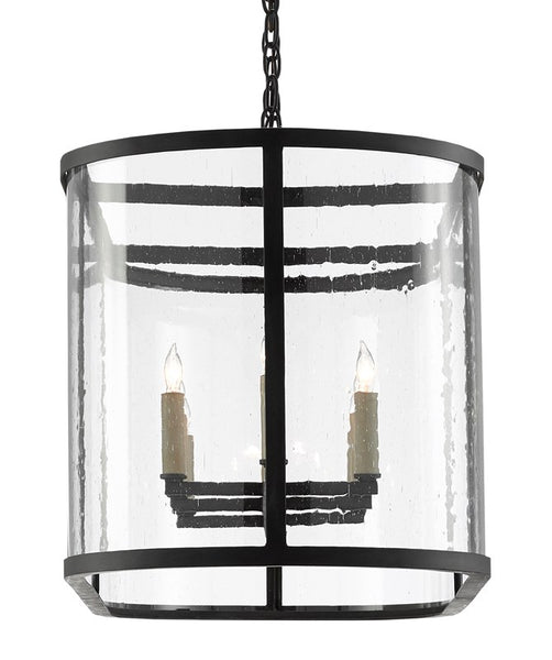 Currey and Company Argand Oval Chandelier 9000-0551