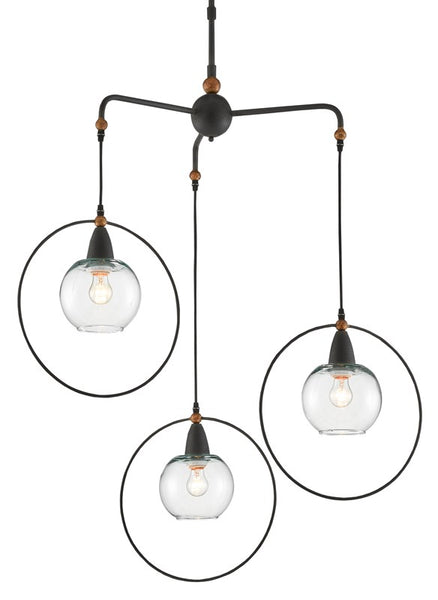 Currey and Company Moorsgate Trio Pendant 9000-0559