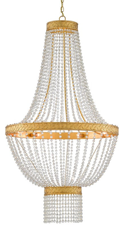Currey and Company Mirador Chandelier 9000-0564