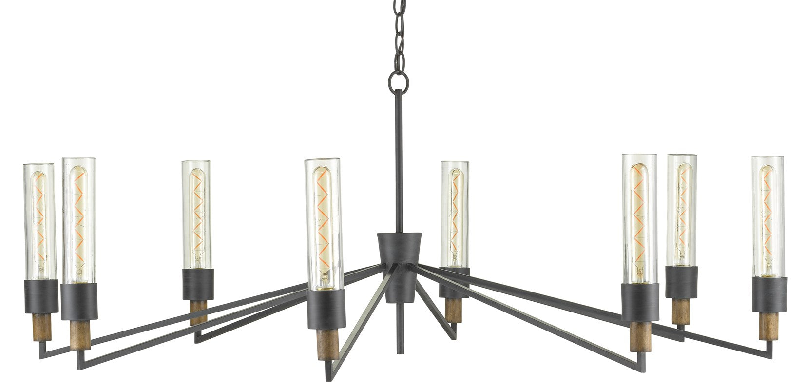 Currey and Company Delgado Chandelier 9000-0607