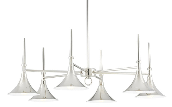 Currey and Company Julian Chandelier 9000-0616