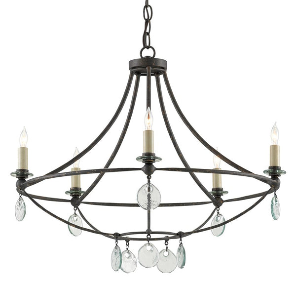 Currey and Company Novella Small Chandelier 9000-0641