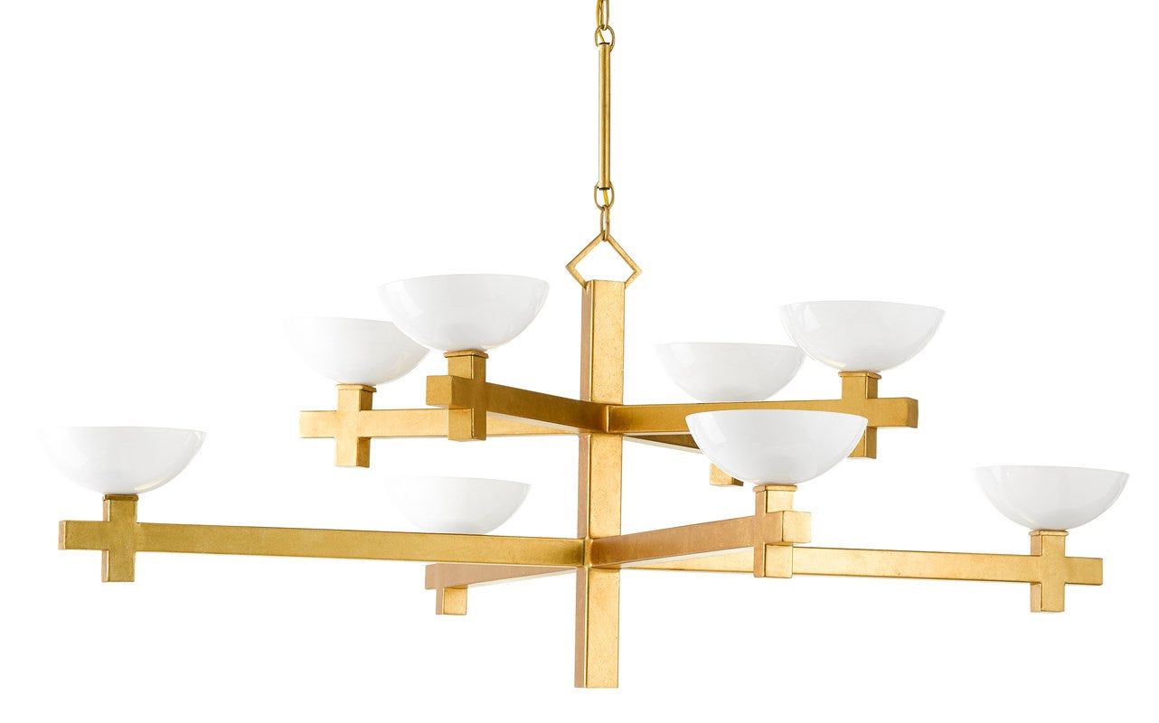 Currey and Company Poitou Chandelier 9000-0642