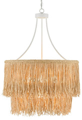 Currey and Company Samoa Two-Tiered Chandelier 9000-0649
