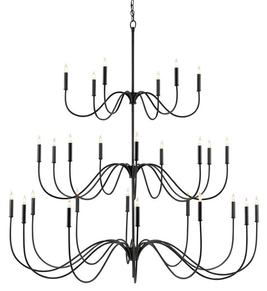 Currey and Company Tirrell Large Chandelier 9000-0655