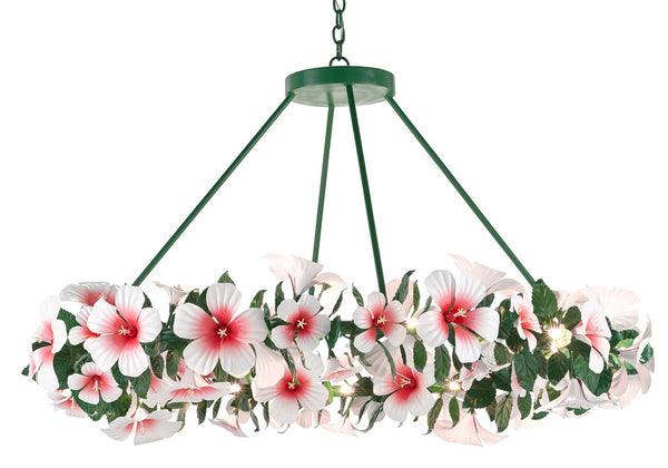 Currey and Company Hibiscus Large Chandelier 9000-0660