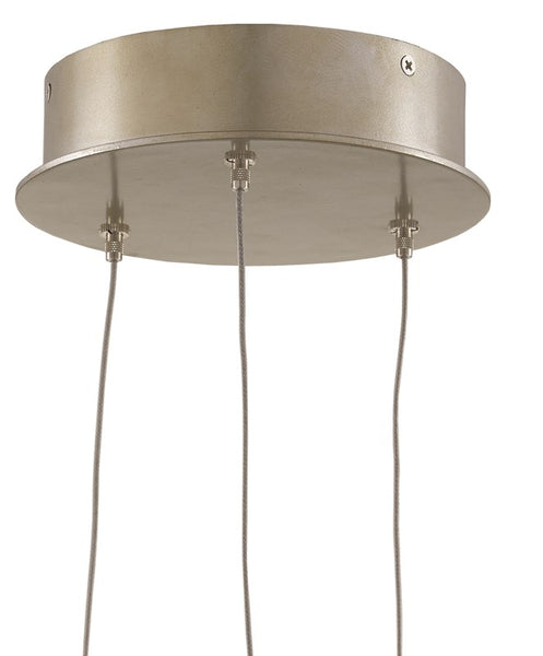 Currey and Company Catrice 3-Light Multi-Drop Pendant 9000-0675