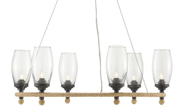Currey and Company Hightider Chandelier 9000-0738