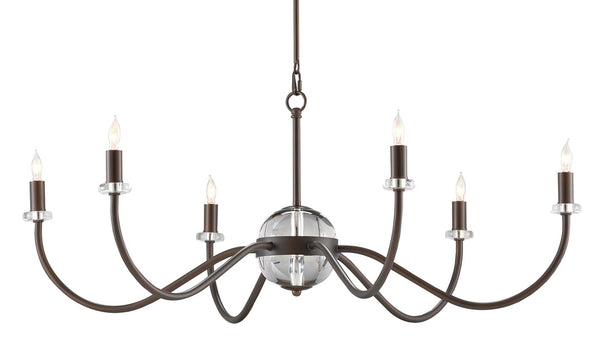 Currey and Company Salerio Chandelier 9000-0744