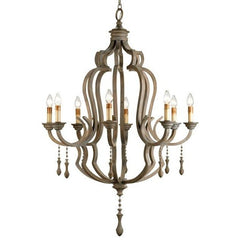 Currey and Company Waterloo Chandelier - LOVECUP - 1