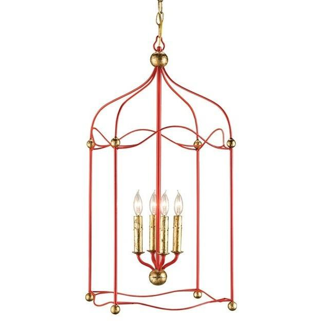 Currey and Company Carousel Lantern - LOVECUP