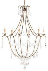 Currey and Company Elizabeth Chandelier 9048