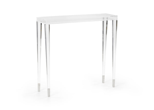 Chelsea House Acrylic Berkshire Hall Table 384407