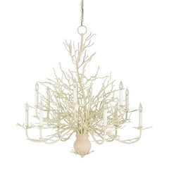 Currey and Company Seaward Chandelier, Large 9188 - LOVECUP - 1