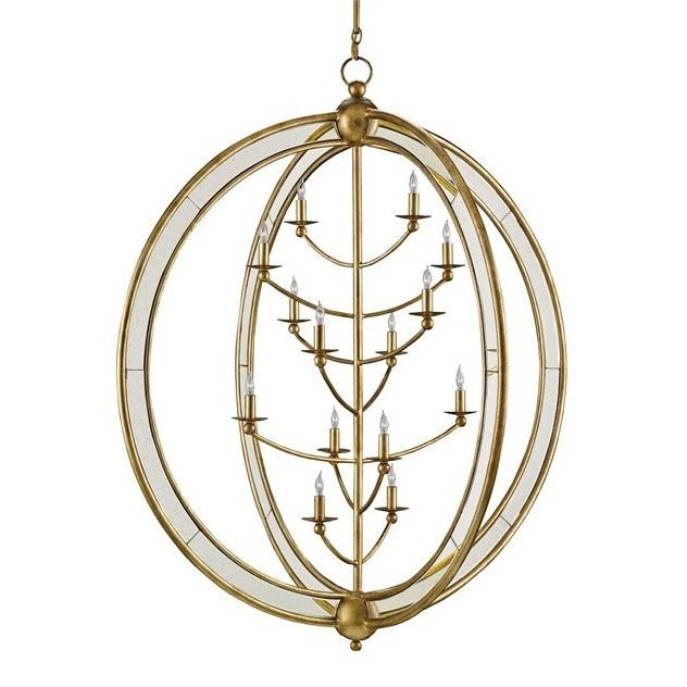Currey and Company Aphrodite Chandelier, Large - LOVECUP