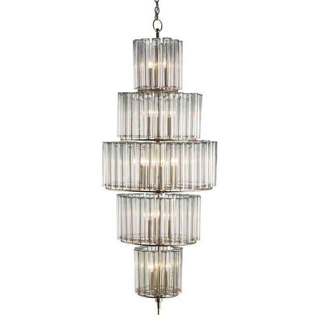 Currey and Company Bevilacqua Chandelier, Large - LOVECUP - 1