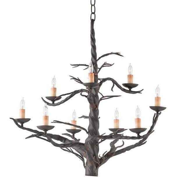 Currey and Company Treetop Chandelier, Large 9327 - LOVECUP