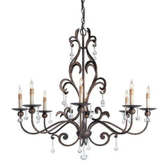 Currey and Company Pompeii Chandelier 9380 - LOVECUP
