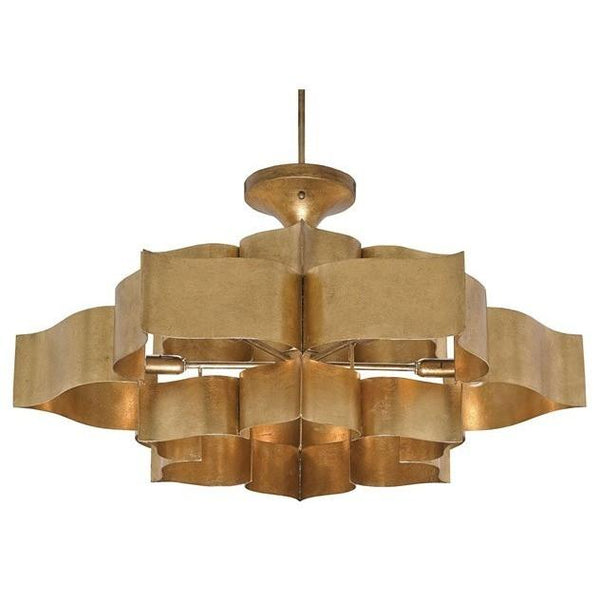 Currey and Company Grand Lotus Chandelier 9494 - LOVECUP - 1