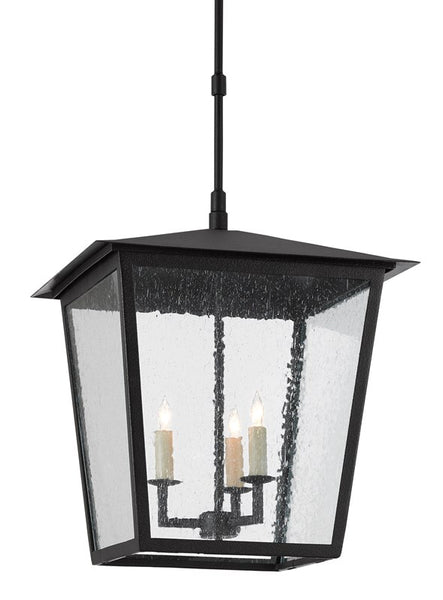 Currey and Company Bening Outdoor Lantern, Large 9500-0002
