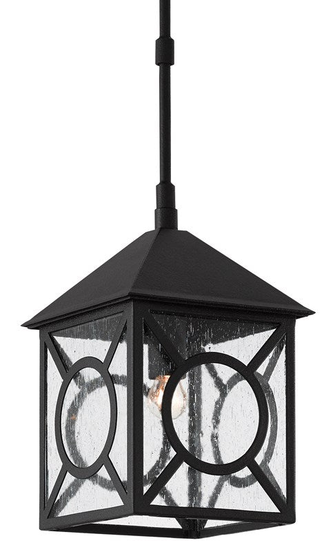 Currey and Company Ripley Outdoor Lantern, Small 9500-0007