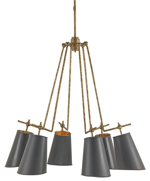 Currey and Company Jean-Louis Chandelier 9503