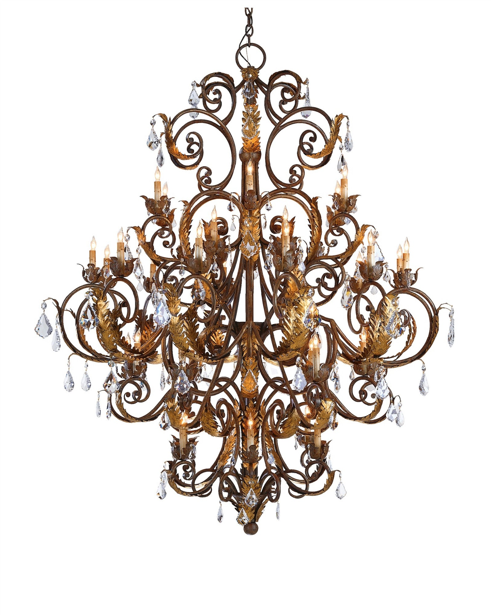 Currey and Company Innsbruck Chandelier 9530